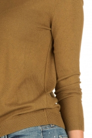 American Vintage | Fijn gebreide trui Lobaisland | groen  | Afbeelding 5