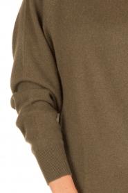 American Vintage | Kasjmieren trui Maxim | groen  | Afbeelding 5