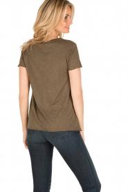 American Vintage | T-shirt Jacksonville | leger groen  | Afbeelding 4