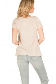 American Vintage   T-shirt Jacksonville   nude    Afbeelding 4