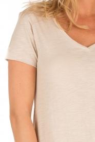 American Vintage   T-shirt Jacksonville   nude    Afbeelding 5