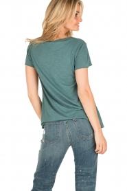 American Vintage | T-shirt Jacksonville | blauw  | Afbeelding 4