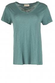 American Vintage | T-shirt Jacksonville | blauw  | Afbeelding 1