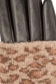 Becksöndergaard | Leren handschoen Barre | dierenprint  | Afbeelding 4