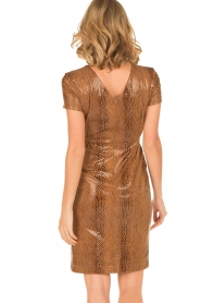 Ana Alcazar |  Dress Bentley | brown  | Picture 5