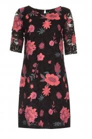Ana Alcazar |  Lace dress Senza | black  | Picture 1