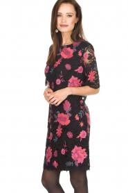 Ana Alcazar |  Lace dress Senza | black  | Picture 4