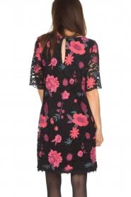 Ana Alcazar |  Lace dress Senza | black  | Picture 5