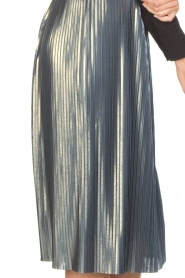 Ana Alcazar |  Metallic skirt Melody | silver  | Picture 6