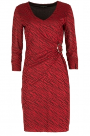 Ana Alcazar |  Dress Celeste | red  | Picture 1