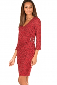 Ana Alcazar |  Dress Celeste | red  | Picture 4