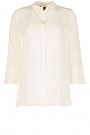 Tara Jarmon |  Silk blouse Siera | white  | Picture 1