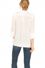 Tara Jarmon |  Silk blouse Siera | white  | Picture 5
