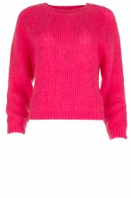 Tara Jarmon |  Knitted sweater Leah | fuchsia  | Picture 1