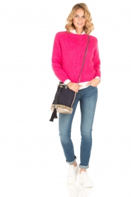 Tara Jarmon |  Knitted sweater Leah | fuchsia  | Picture 3
