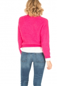 Tara Jarmon |  Knitted sweater Leah | fuchsia  | Picture 5