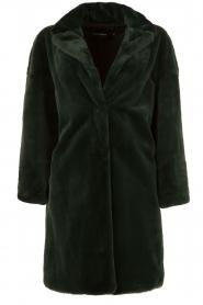 Tara Jarmon | Faux fur jas Canard | groen  | Afbeelding 1