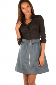 Tara Jarmon |  Skirt Samyra | blue  | Picture 2
