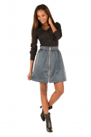 Tara Jarmon |  Skirt Samyra | blue  | Picture 3