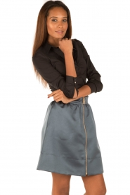 Tara Jarmon |  Skirt Samyra | blue  | Picture 4
