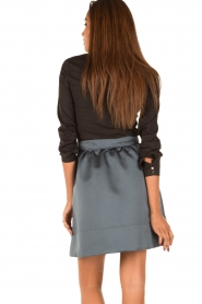 Tara Jarmon |  Skirt Samyra | blue  | Picture 5