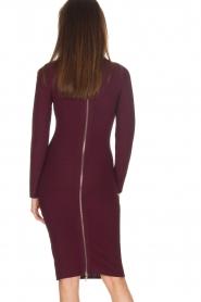NIKKIE |  Dress Jaleesa | bordeaux   | Picture 5
