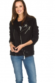 NIKKIE |  Biker jacket | black  | Picture 2
