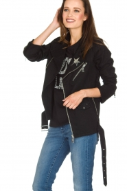 NIKKIE |  Biker jacket | black  | Picture 4