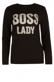 Sweater Boss Lady | zwart