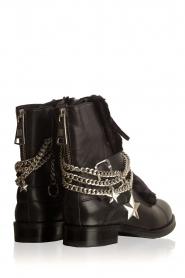 NIKKIE | Leren biker boots Delfina | zwart  | Afbeelding 4