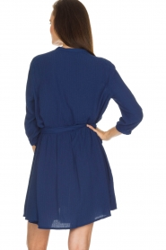 Sessun |  Dress Adonia | blue  | Picture 5