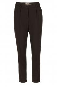 Sessun | Pantalon Mansfield | zwart  | Afbeelding 1
