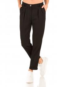 Sessun | Pantalon Mansfield | zwart  | Afbeelding 2