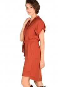 Dante 6 | Jurk Hepburn | rood  | Afbeelding 4