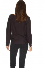 Leon & Harper |  Sweatshirt Wild | faded black  | Picture 5