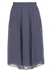 Leon & Harper |  Polkadot skirt Jamy | blue  | Picture 1