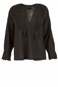 Leon & Harper |  Top Camomille | black  | Picture 1