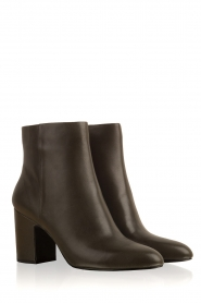 What For |  Leather ankle boot Achille | dark green  | Picture 3