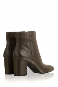 What For |  Leather ankle boot Achille | dark green  | Picture 4