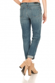 J brand |  Mid-rise boy fit jeans Johnny | peace   | Picture 5