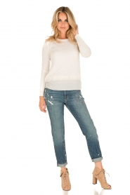 J brand |  Mid-rise boy fit jeans Johnny | peace   | Picture 3