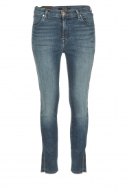 J brand | Skinny Jeans Alana | donkerblauw  | Afbeelding 1