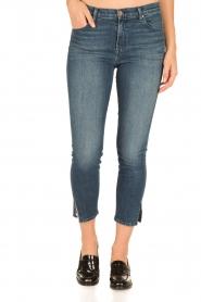 J brand | Skinny Jeans Alana | donkerblauw  | Afbeelding 2