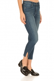 J brand | Skinny Jeans Alana | donkerblauw  | Afbeelding 3
