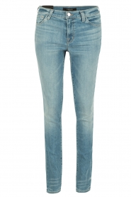 J brand | Mid-rise Skinny Leg | adventure blauw  | Afbeelding 1