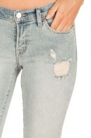 J brand |  Low waist skinny cropped | light blue  | Picture 6