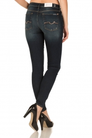 7 For All Mankind | Skinny jeans Swarovski Ripped | blauw  | Afbeelding 5