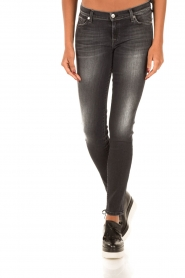 7 For All Mankind | Skinny jeans Swarovski | zwart  | Afbeelding 2