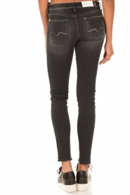 7 For All Mankind | Skinny jeans Swarovski | zwart  | Afbeelding 5