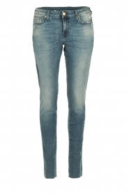 7 For All Mankind | Skinny jeans Monki | blauw  | Afbeelding 1